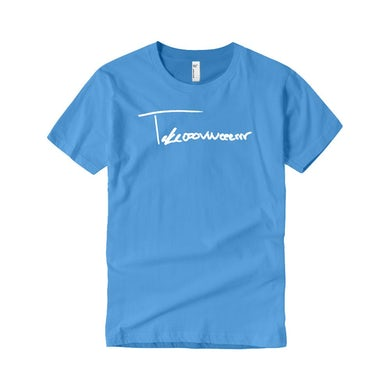 Taylor J Takeover Signature T-Shirt (Baby Blue/White)