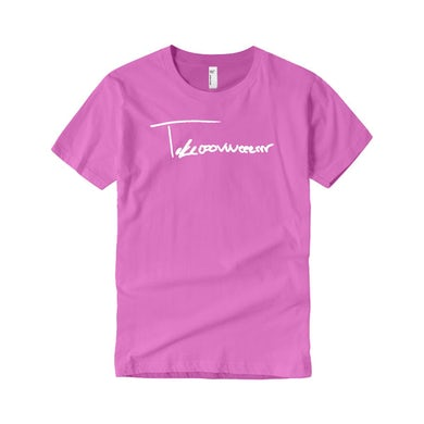 Taylor J Takeover Signature T-Shirt (Pink/White)