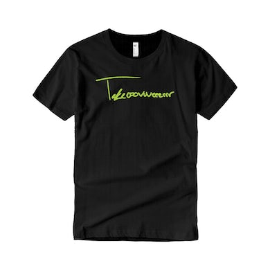 Taylor J Takeover Signature T-Shirt (Black/Neon Green)