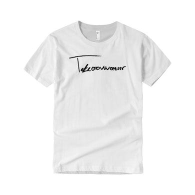 Taylor J Takeover Signature T-Shirt (White/Black)