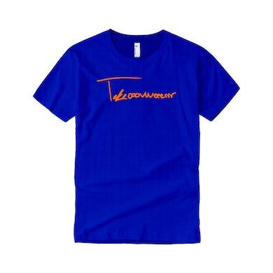 Taylor J Takeover Signature T-Shirt (Royal Blue/Orange)