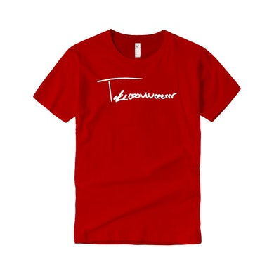 Taylor J Takeover Signature T-Shirt (Red/White)