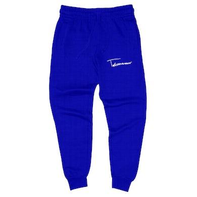 Taylor J Takeover Signature Sweatpants (Royal Blue/White)