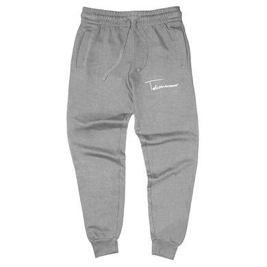 Taylor J Takeover Signature Sweatpants (Gray/White)