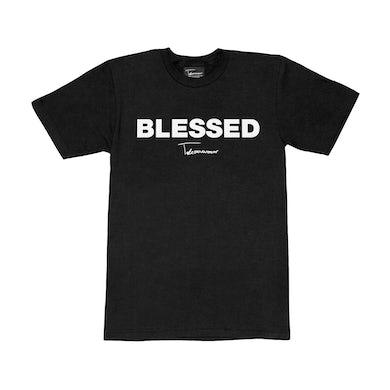 Taylor J Takeover Blessed T-Shirt (Black/White)