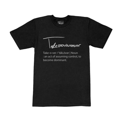 Taylor J Takeover Definition T-Shirt (Black/Grey)