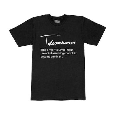Taylor J Takeover Definition T-Shirt (Black/White)
