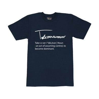 Taylor J Takeover Definition T-Shirt (Navy Blue/White)