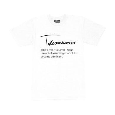 Taylor J Takeover Definition T-Shirt (White/Black)