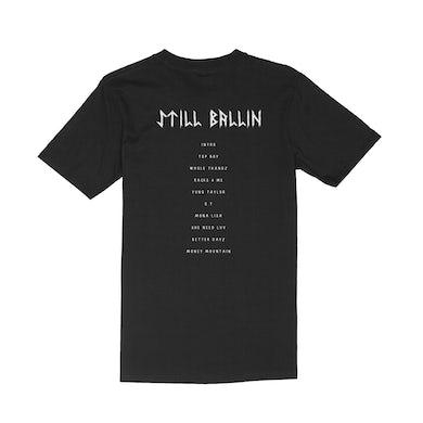 Taylor J Still Ballin Tracklist T-Shirt