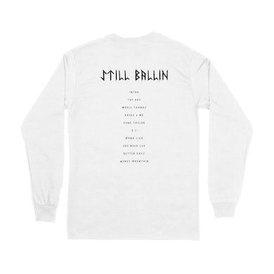 Taylor J Takeover Still Ballin L/S Tracklist T-Shirt