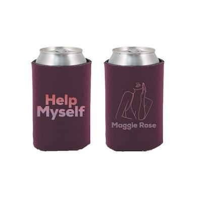 Maggie Rose HELP MYSELF MAROON KOOZIE