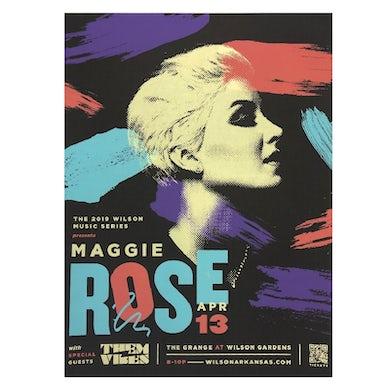 Maggie Rose 2019 WILSON MUSIC SERIES POSTER