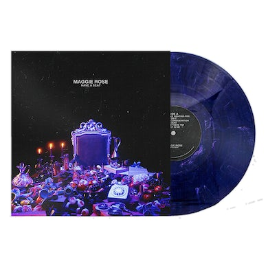 Maggie Rose HAVE A SEAT BLUE MARBLE VINYL