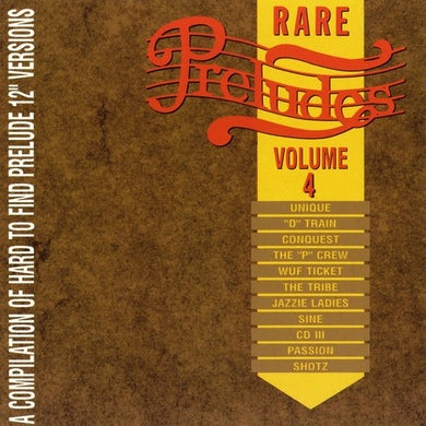Prelude Records Various Artists - Rare Preludes, Vol. 4