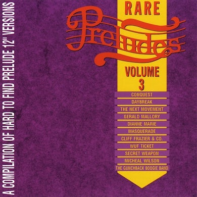 Prelude Records Various Artists - Rare Preludes, Vol. 3