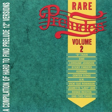 Prelude Records Various Artists - Rare Preludes, Vol. 2
