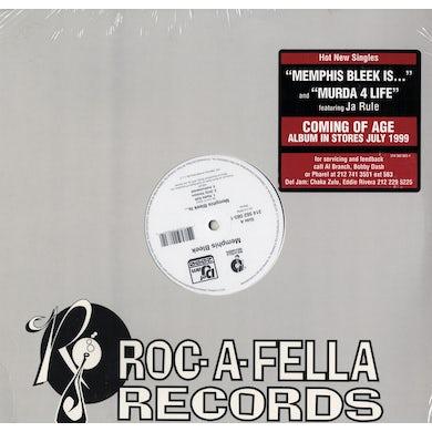 "Memphis Bleek - Memphis Bleek Is.../Murda 4 Life (12"" Vinyl)"
