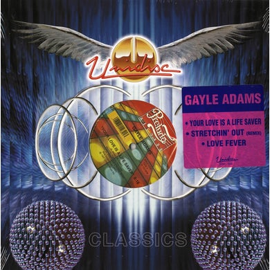 """Gayle Adams - Your Love Is A Life Saver/Stretchin' Out & Love Fever (12"""" Vinyl)"""