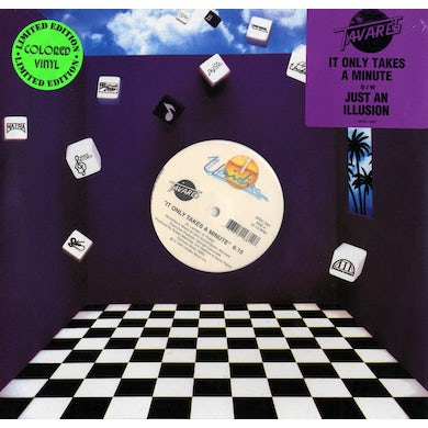 """It Only Takes A Minute/Just An Illusion (12"""" Vinyl)"""