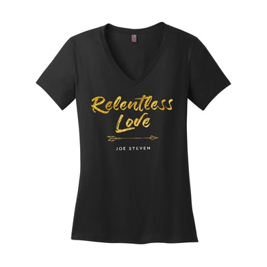 "Joe Steven  ""Relentless Love"" Tee"
