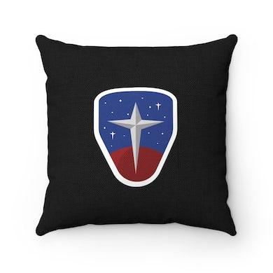 Joe Steven  Starman Throw Pillow