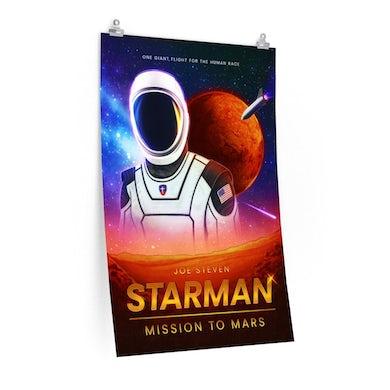 Joe Steven  Starman Poster