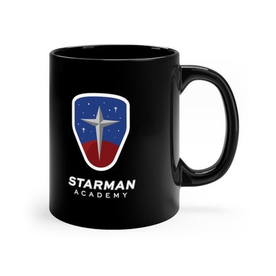 Joe Steven  Starman Academy Coffee Mug