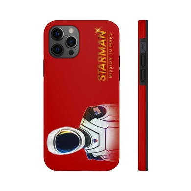 Joe Steven  Starman iPhone Case (Red)