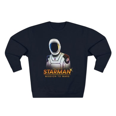 Joe Steven  Starman Crewneck Sweatshirt