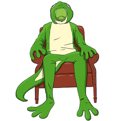 Therapy Gecko GECK CHAIR STICKER