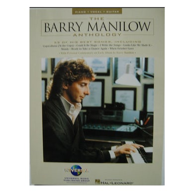 The Barry Manilow Anthology Music Book