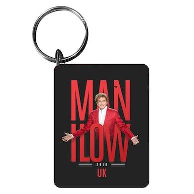 Barry Manilow UK Tour Keychain