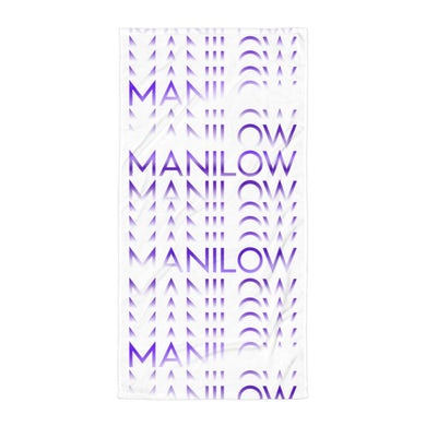 Barry Manilow MANILOW Repeat Towel