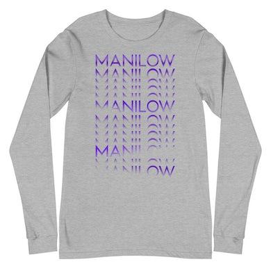 MANILOW Repeat Long Sleeve Tee