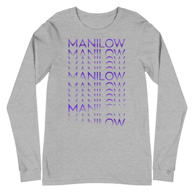 Barry Manilow MANILOW Repeat Long Sleeve Tee