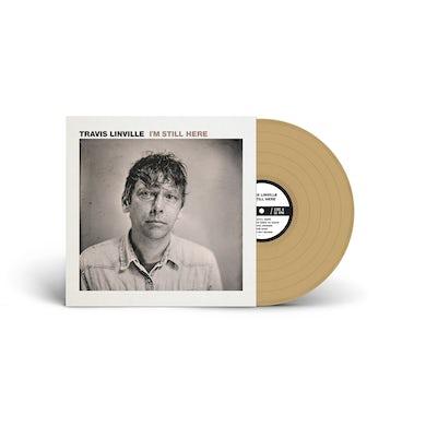 """Travis Linville  I'm Still Here 12""""LP (Gold vinyl)"""