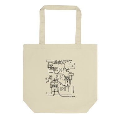 Peach Pit Eat S#*T Tote