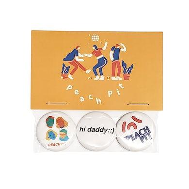 Peach Pit Button Pack