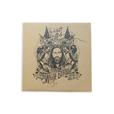 The White Buffalo  Once Upon a Time in the West Signed Vinyl