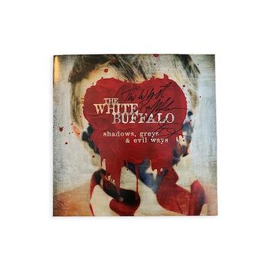 The White Buffalo  Shadows, Greys & Evil Ways Signed Vinyl