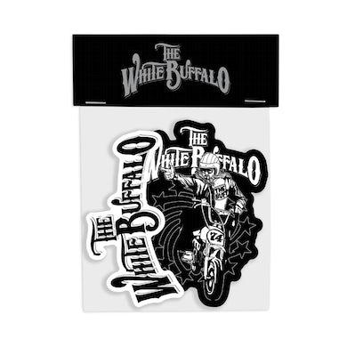 The White Buffalo  The Buff Sticker Pack