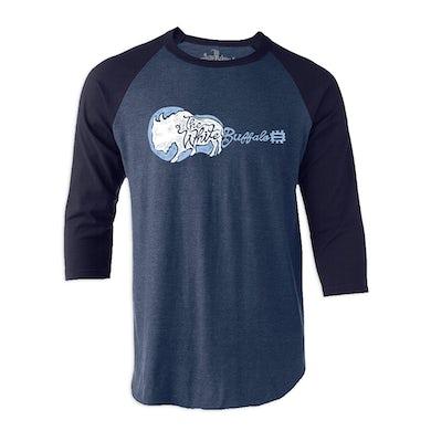 The White Buffalo  Patreon Winner Navy Baseball Shirt