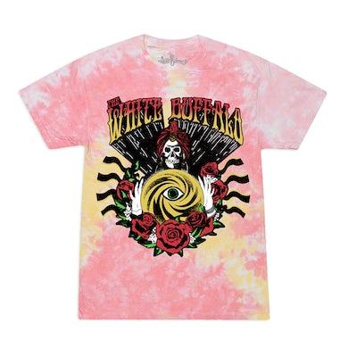 The White Buffalo  Fortune Teller Pink Tie Dye Shirt