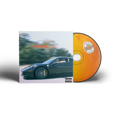 Larry June Orange Print CD