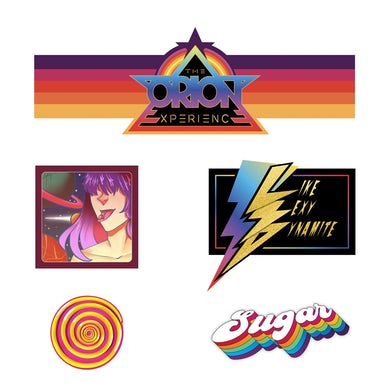 The Orion Experience Sticker Pack | Collection 01