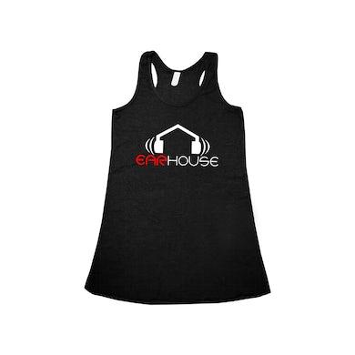 Krizz Kaliko Ear House Logo Women's Racer Back Tank
