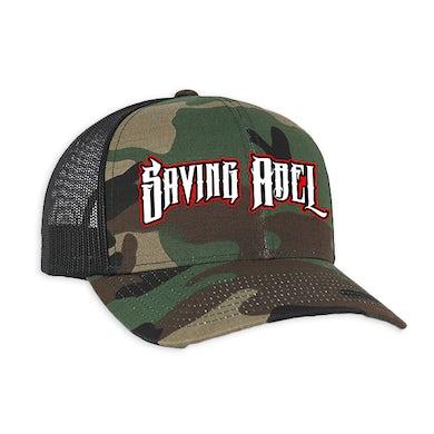 Saving Abel Camo Trucker Hat