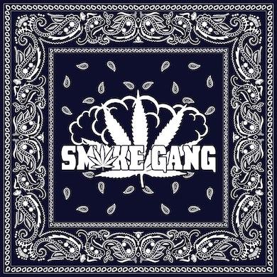 Smoke Gang Blue Paisley Bandana