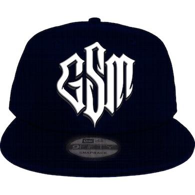 Trick Trick GSM Logo New Era Navy Snapback Hat